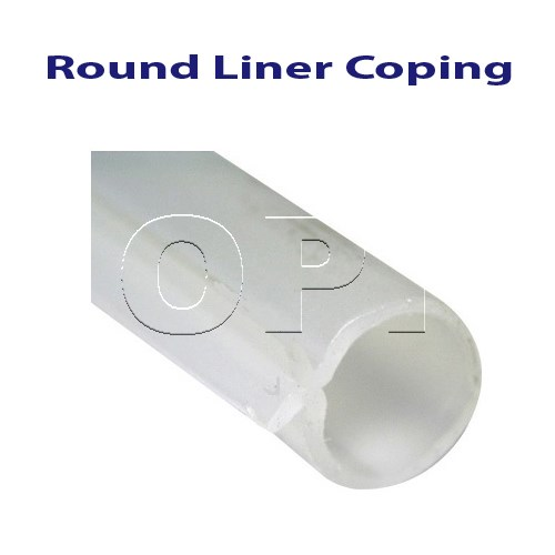 Above Ground Pool Round Liner Coping